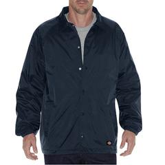 DKI76242-DN-XL - DickiesMens Snap Front Nylon Coachs Jacket