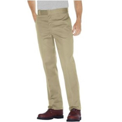 DKI874-DS-32-34 - DickiesMens Plain-Front Work Pant