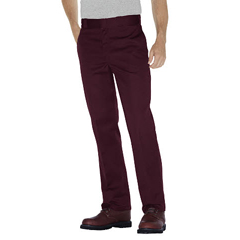 DKI874-MR-34-32 - DickiesMens Plain-Front Work Pant