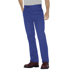 DKI874-RB-38-34 - DickiesMens Plain-Front Work Pant