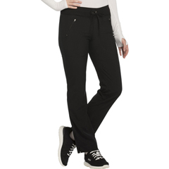 CHRCK100AP-BAPS-2XL - CherokeeWomens Infinity® Mid Rise Tapered Leg Drawstring Pants
