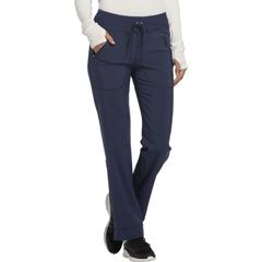 CHRCK100AT-NYPS-2XL - CherokeeWomens Infinity® Mid Rise Tapered Leg Drawstring Pants