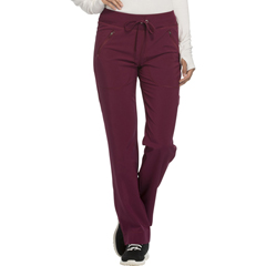 CHRCK100AT-WNPS-2XL - CherokeeWomens Infinity® Mid Rise Tapered Leg Drawstring Pants