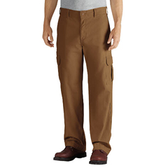 DKIDD113-RBD-34-32 - DickiesMens Duck Cargo Relaxed-Fit Pants