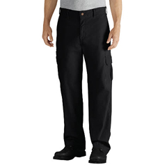 DKIDD113-RBK-34-34 - DickiesMens Duck Cargo Relaxed-Fit Pants