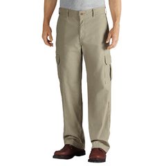 DKIDD113-RDS-40-32 - DickiesMens Duck Cargo Relaxed-Fit Pants