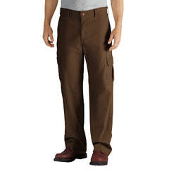 DKIDD113-RTB-40-32 - DickiesMens Duck Cargo Relaxed-Fit Pants