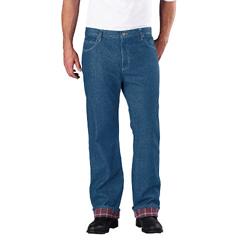 DKIDD217-SNB-42-30 - DickiesMens 5-Pocket Flannel Lined Jeans