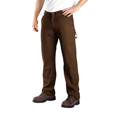 DKIDU212-RTB-42-30 - DickiesMens Relaxed-Fit Carpenter Duck Jeans