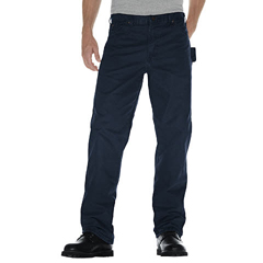 DKIDU336-RDN-42-32 - DickiesMens Relaxed-Fit Sanded Duck Carpenter Jeans