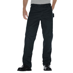 DKIDU336-RSL-38-32 - DickiesMens Relaxed-Fit Sanded Duck Carpenter Jeans