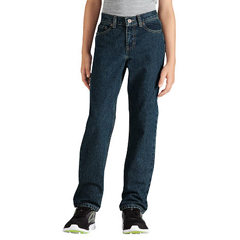 DKIKD120-THK-18-RG - DickiesBoys Slim-Fit Straight-Leg 6-Pocket Jeans