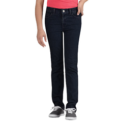 DKIKD560-RIT-10-RG - DickiesGirls 5-Pocket Jeans