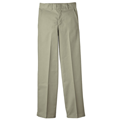 DKIKP123-KH-10 - DickiesBoys FlexWaist Flat-Front Pants