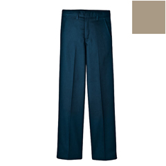DKIKP321-KH-10 - DickiesBoys FlexWaist™ Flat-Front Pants with Logo