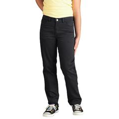 DKIKP560-BK-12-RG - DickiesGirls 5-Pocket Twill Pants