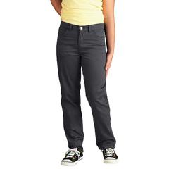 DKIKP560-CH-8-RG - DickiesGirls 5-Pocket Twill Pants