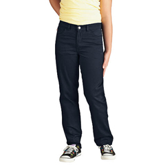 DKIKP560-DN-14-RG - DickiesGirls 5-Pocket Twill Pants