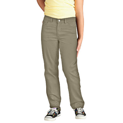 DKIKP560-DS-12-RG - DickiesGirls 5-Pocket Twill Pants