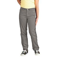 DKIKP560-SV-7-RG - DickiesGirls 5-Pocket Twill Pants
