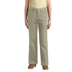 DKIKP569-DS-12-S - DickiesGirls Stretch Flare Bottom Pants, 7-20