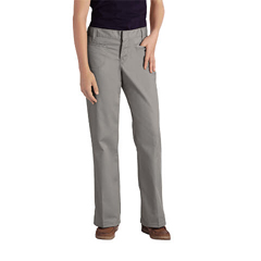 DKIKP7711-SV-1 - DickiesJuniors Stretch Welt Pocket Flare-Bottom Pants