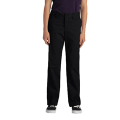 DKIKP7718-BK-15 - DickiesJuniors Stretch Straight-Leg Pants
