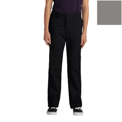 DKIKP7718-SV-15 - DickiesJuniors Stretch Straight-Leg Pants