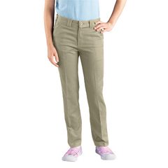 DKIKP801-DS-12-RG - DickiesGirls Skinny Straight-Leg Pants