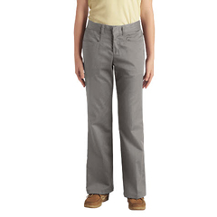 DKIKP969-SV-5 - DickiesJuniors Stretch Flare-Bottom Pants