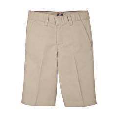 DKIKR123-KH-10 - DickiesBoys FlexWaist™ Flat-Front Shorts, 4-20