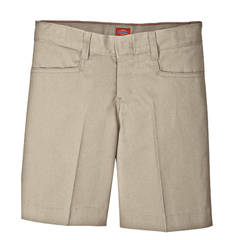 DKIKR511-KH-14 - DickiesGirls Adjustable Waistband L-Pocket Shorts