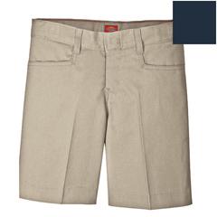 DKIKR511-DN-14 - DickiesGirls Adjustable Waistband L-Pocket Shorts