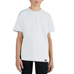 DKIKS400-WH-S - DickiesBoys Short Sleeve Performance Tee Shirts