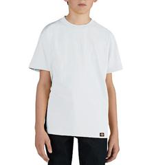 DKIKS400-WH-L - DickiesBoys Short Sleeve Performance Tee Shirts