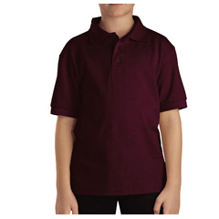 DKIKS4552-BY-S - DickiesKids Short Sleeve Pique Polo Shirts