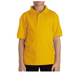 DKIKS4552-GL-XL - DickiesKids Short Sleeve Pique Polo Shirts