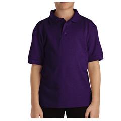 DKIKS4552-PR-L - DickiesKids Short Sleeve Pique Polo Shirts