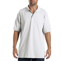 DKIKS5552-WH-XL - DickiesMens Short Sleeve Polo Shirts