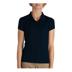 DKIKS952-DN-S - DickiesGirls Short Sleeve Pique Polo Shirts