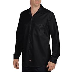 DKILL307-BK-L-RG - DickiesMens Long Sleeve Industrial Shirt