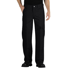 DKILP703BK-48-34 - DickiesMens Tactical Relaxed Fit Straight Leg Lightweight Ripstop Pants