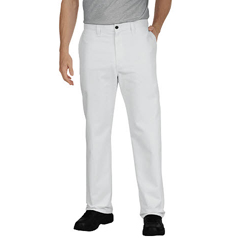 DKILP8122-WH-46-UU - DickiesMens Industrial Relaxed-Fit Flat-Front Pant