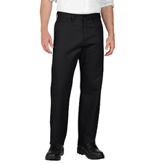 DKILP812-BK-32-30 - DickiesMens Industrial Flat-Front Pant