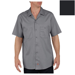 DKILS307-DC-L-RG - DickiesMens Short Sleeve Industrial Cotton Work Shirt