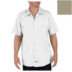 DKILS307-DS-M-RG - DickiesMens Short Sleeve Industrial Cotton Work Shirt