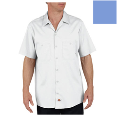 DKILS307-LW-4X-RG - DickiesMens Short Sleeve Industrial Cotton Work Shirt