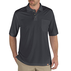 DKILS404-CH-M - DickiesMens Industrial Short Sleeve Polo Shirts