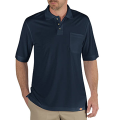 DKILS404-DN-XL - DickiesMens Industrial Short Sleeve Polo Shirts