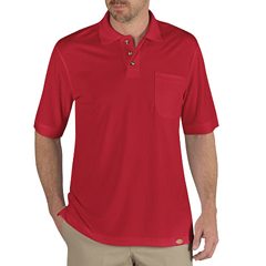 DKILS404-ER-M - DickiesMens Industrial Short Sleeve Polo Shirts